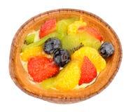 Scherpe het Dessert van het de zomerfruit Stock Afbeelding