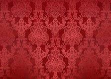 Scherpe rode geweven achtergrond Royalty-vrije Stock Fotografie