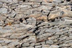 Scherpe rotsenrots Stock Afbeeldingen
