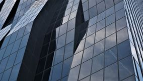 Scherpe Wolkenkrabber in Wenen royalty-vrije stock afbeeldingen
