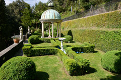 Scherrer Park at Morcote on Switzerland. Morcote, Switzerland - 13 april 2016: Scherrer Park on Morcote, Switzerland. Called The Garden of Wonders. a rich stock photo