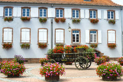 Scherwiller (Alsace) - House Royalty Free Stock Images