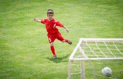 Scherza il calcio Fotografia Stock