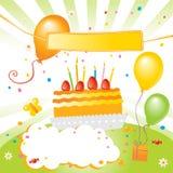 Scherza la festa di compleanno illustrazione vettoriale