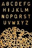 Scherza la fonte tipografica della pasta Immagine Stock Libera da Diritti