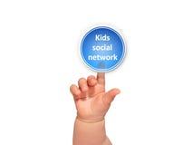 Scherza le reti sociali. Fotografie Stock Libere da Diritti