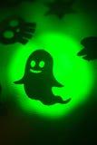 Scherzetto o dolcetto del partito del fantasma di Halloween Fotografia Stock Libera da Diritti