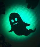 Scherzetto o dolcetto del partito del fantasma di Halloween Fotografia Stock