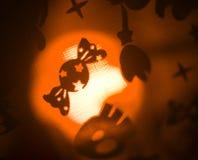 Scherzetto o dolcetto del partito della caramella di Halloween Fotografie Stock Libere da Diritti