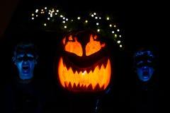 Scherzi di Halloween Fotografia Stock Libera da Diritti