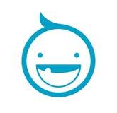 Scherzi l'icona, il simbolo del bambino, la progettazione del bambino, l'icona del bambino, il simbolo del bambino, la progettazi royalty illustrazione gratis