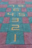 Scherzt Hopse Spielplatz Lizenzfreie Stockbilder