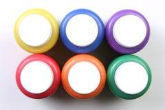Scherzt künstlerisch Ausdruck-alle Farben kein Pinsel Lizenzfreies Stockbild