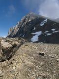 The Schesaplana in the Raetikon mountains Stock Photo