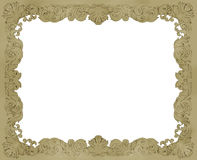Schets een kader dat in potlood wordt getrokken Royalty-vrije Stock Foto's