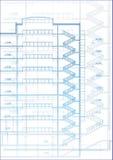 Schets. Vector illustratie. Royalty-vrije Stock Fotografie