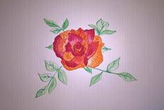 Schets voor een kobold, een tapijtwerk, en een handwerk Met de hand gemaakte tekening Stock Afbeeldingen