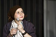 Scheuert Theaterspiel an UNATC, Bucharest Lizenzfreie Stockbilder