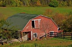 Scheune in Autumn Colors stockfoto