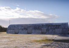 Scheune in Hvolsvuller, Island Lizenzfreie Stockbilder