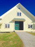 Scheune in Maine Lizenzfreies Stockbild