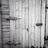 Scheunen-Tür Stockfotografie