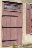 Scheunen-Tür-Eingang Lizenzfreie Stockfotos