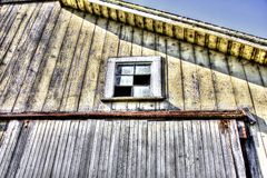 Scheunenfenster Lizenzfreie Stockfotos