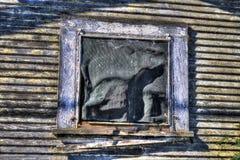 Scheunenfenster Stockbild