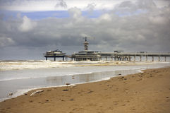 Scheveningen Royalty Free Stock Photo