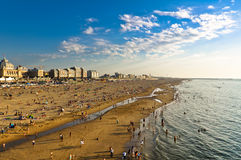 Scheveningen Beach Royalty Free Stock Images
