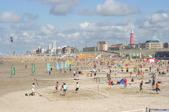 Scheveningen Beach Volleyball Royalty Free Stock Images