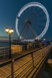 Scheveningen ferris wheel Royalty Free Stock Photography