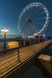 Scheveningen ferris wheel Royalty Free Stock Photos