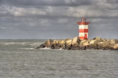 Scheveningen-Leuchtturm Lizenzfreies Stockbild
