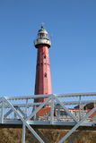 Scheveningen lighthouse, Netherlands Royalty Free Stock Photo