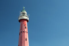 Scheveningen lighthouse, Netherlands Stock Images