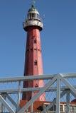 Scheveningen lighthouse, Netherlands Royalty Free Stock Images