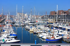 Scheveningen Marina Royalty Free Stock Photos