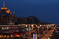 Scheveningen by night Stock Image
