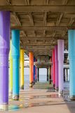 Scheveningen-Pier Lizenzfreies Stockfoto