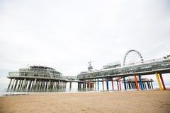 Scheveningen Pier at Scheveningen, the Netherlands Stock Photography