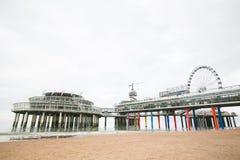 Scheveningen Pier at Scheveningen, the Netherlands Stock Photo