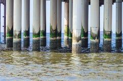 Scheveningen, sandy beach, jetty, pier Royalty Free Stock Images