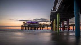 Scheveningen-Strand Den Haag Stockfotos
