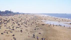 Scheveningen strand, Haag arkivfilmer