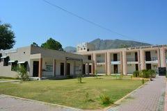 Schiaffo dell'istituto universitario di Jahanzeb Fotografie Stock Libere da Diritti