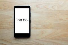 Schiavi dello Smart Phone Fotografie Stock