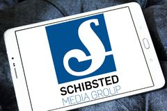 Schibsted Media Group logo Royalty Free Stock Photos