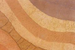 Schicht Bodenuntertagehintergrund lizenzfreie stockbilder